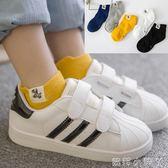 兒童襪子春秋夏季純棉男女童船襪3-5-7-9-12歲寶寶短小孩襪 蘿莉小腳ㄚ