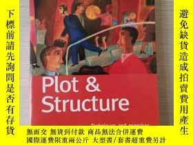 二手書博民逛書店Plot罕見and structure plot structu