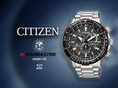 【時間道】CITIZEN 星辰 PROMASTER限量五局電波航空腕錶/黑面鋼帶(CB5001-57E)免運費