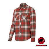 【MAMMUT 長毛象】 Hornli Hut Shirt Long 男 快乾長袖襯衫 紅橘 1030-02150