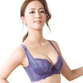 思薇爾-柔挺美學系列B-G罩蕾絲美背塑身內衣(楹花紫)