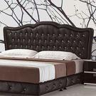 床頭片 伊蕾特黑色6尺床片 (18JS1...