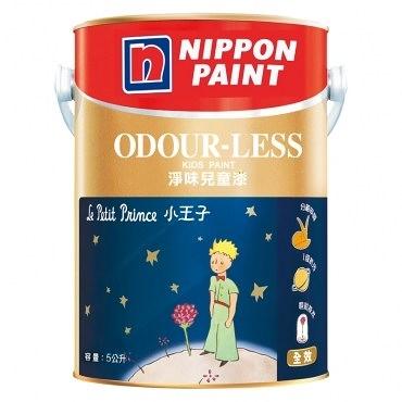 NIPPON PAINT 立邦漆 淨味兒童漆 玫瑰白 5L