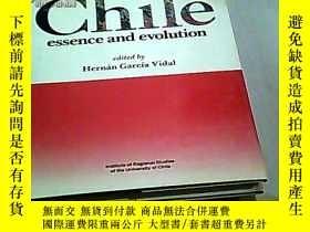 二手書博民逛書店Chile罕見essence and evolution (英文