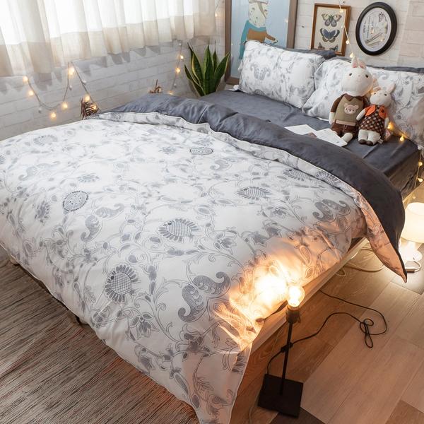 天絲(60支) S4單人床包+雙人兩用被三件組 專櫃級 多款可選 100%天絲 台灣製 棉床本舖