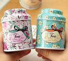 【發現。好貨】田園系碎花茶葉罐花茶罐迷你馬口鐵收納盒零食收納盒
