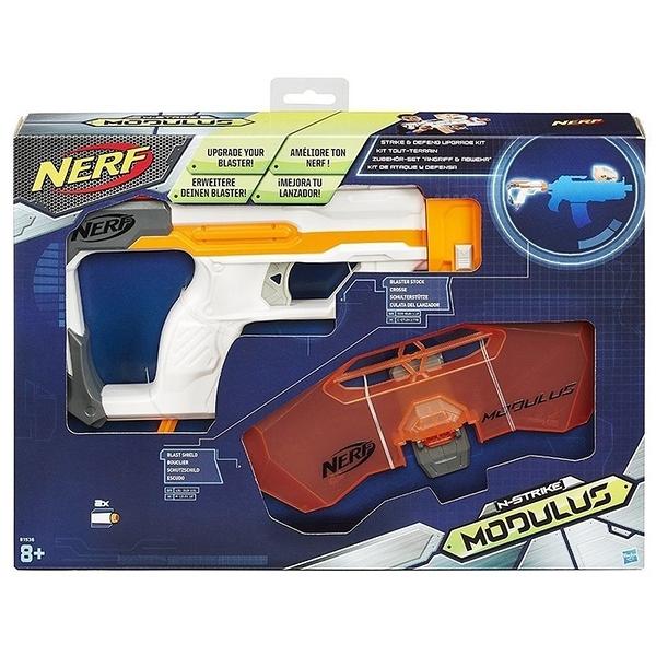 NERF 樂活打擊 自由模組 攻擊防衛套件 【鯊玩具Toy Shark】