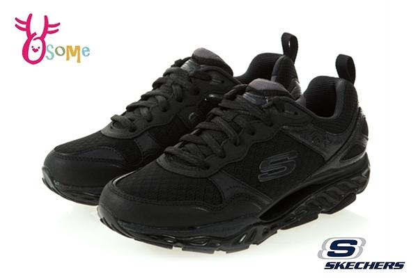 Skechers SRR PRO RESISTANCE 成人男款 台灣獨賣 回彈力慢跑鞋 運動鞋 R8231#黑色◆OSOME奧森鞋業