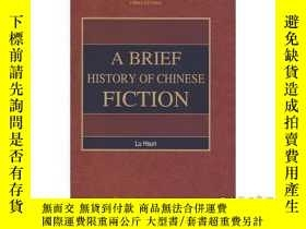 二手書博民逛書店A罕見BRIEF HISTORY OF CHINESE FICT