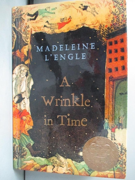 【書寶二手書T2/少年童書_KGK】A Wrinkle in Time_L'Engle, Madeleine
