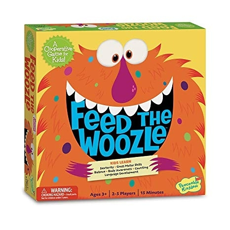 【Peaceable Kingdom】FEED THE WOOZLE 餵飽怪物 桌上遊戲