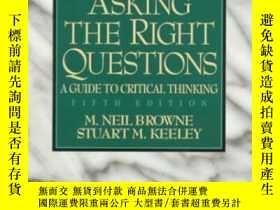 二手書博民逛書店Asking罕見The Right QuestionsY364682 M. Neil Browne Prent
