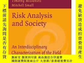二手書博民逛書店Risk罕見Analysis And Society: An I