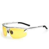 太陽眼鏡-偏光夜視鏡夜間開車駕駛防護男-墨鏡-2色73nm18【巴黎精品】