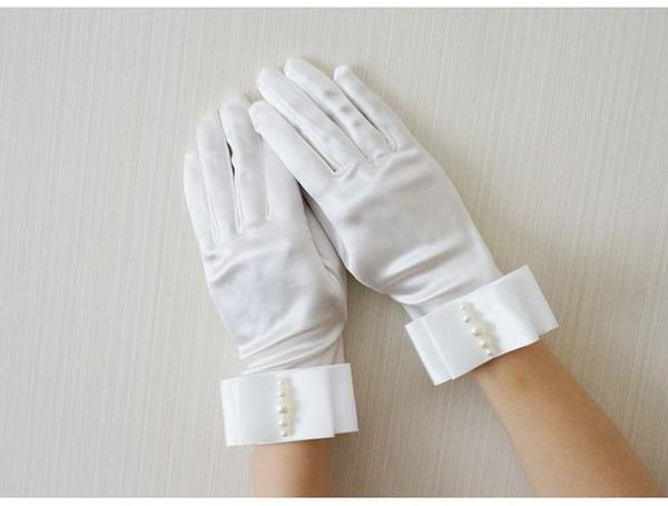 簡約新娘結婚紗手套