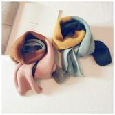 韓國兒童圍巾秋冬季女童寶寶純棉毛線圍脖加厚嬰兒韓版圍巾潮男童  9號潮人館