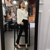85折孕婦褲2018新款牛仔褲九分褲夏季外穿打底褲99購物節