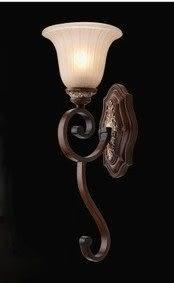 設計師美術精品館單頭復古壁燈 美式古典鐵藝燈具 臥室床頭玄關過道燈飾8040-1W