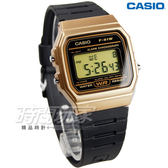 CASIO卡西歐 F-91WM-9ADF LED照明 電子錶 F-91WM-9A 男錶 中性錶 運動錶 學生錶 日期 計時碼錶 黑x金