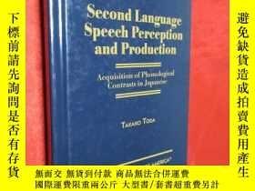 二手書博民逛書店Second罕見Language Speech Percepti