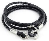 多層皮繩船錨手鍊男士手繩韓版情侶手飾