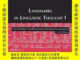 二手書博民逛書店Landmarks罕見In Linguistic ThoughtY256260 Taylor, Talbot