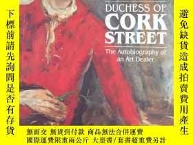 二手書博民逛書店Duchess罕見of Cork Street- the aut