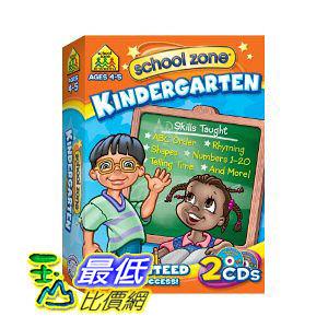 [美國直購 ShopUSA] Kindergarten - 2 Pack by School Zone Interactive $1136