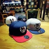 韓國ulzzang帽子女惡搞動物卡通刺繡嘻哈帽情侶棒球帽男平沿帽潮 交換禮物