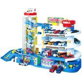 小汽車大樓停車場合金賽車軌道電動兒童男孩禮物玩具 WE1089『優童屋』
