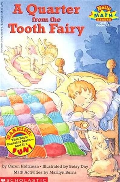 (二手書)Scholastic Reader Level 3: A Quarter from the Tooth Fairy