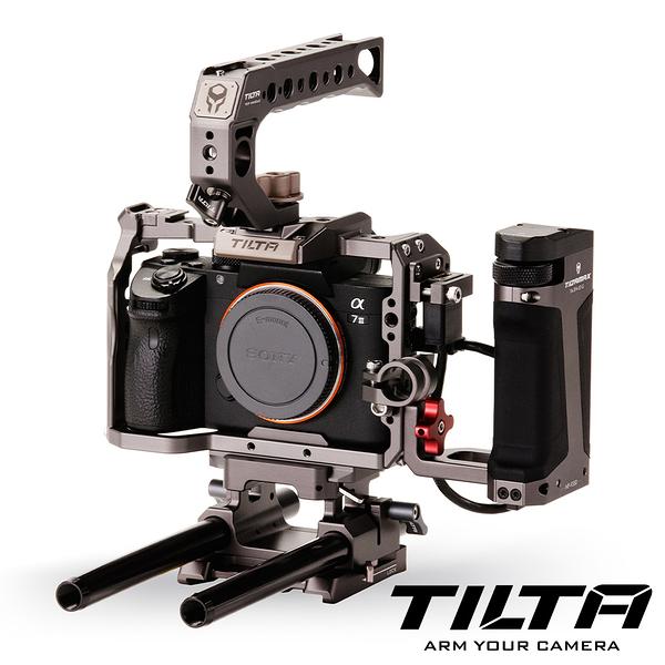 TILTA 鐵頭 TA-T17 兔籠 含把手 大師版本 / Sony A7RIII A7RIV A9 適用 (TA-T17-C-G)