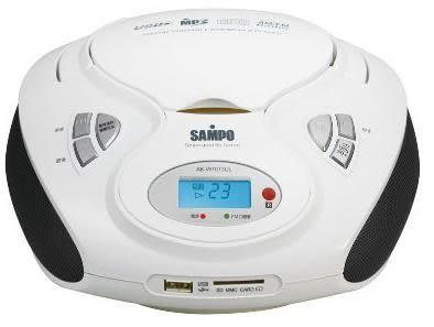 【SAMPO 聲寶】手提CD/MP3/USB/SD音響 AK-W1013UL