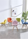椅子靠背北歐家用簡約伊姆斯餐椅網紅美甲化妝書桌椅懶人ins凳子 【母親節禮物】
