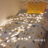 LED燈串led星星燈彩燈閃燈串燈滿天星房間裝飾燈節日燈串小彩燈臥室一件免運