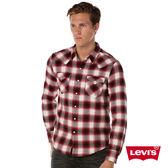 Levis 格紋襯衫 男裝 / 雙口袋 / 珍珠扣