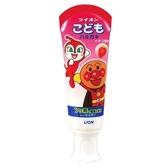 日本獅王麵包超人牙膏-草莓40g【愛買】