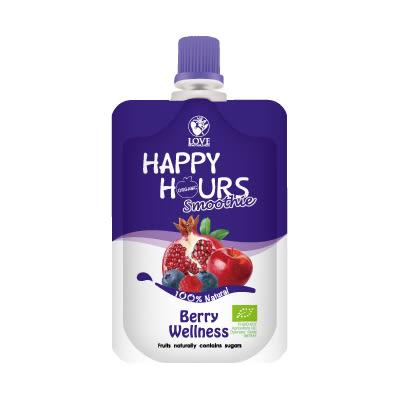 佑爾康金貝親 HAPPY HOURS 有機纖果飲 (蘋果/ 紅石榴/ 覆盆莓/ 藍莓)100g【佳兒園婦幼館】