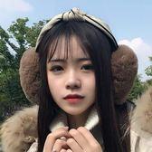 2018耳套保暖耳罩女冬季韓版可愛卡通護耳朵毛絨耳暖耳包耳捂折疊