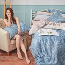 床包兩用被組 / 雙人【可莉安】含兩件枕...