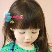 UNICO  兒童 甜美色系手工花朵髮夾(隨機出貨/不挑款)