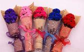 【節日限定】5朵康乃馨花束禮盒香皂花 仿真永生花母親節媽媽禮物 現貨熱銷中 顏色不足隨機出貨