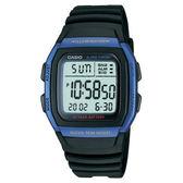 【僾瑪精品】卡西歐 十年電力經典電子流行腕錶/35mm/W-96H-2A/考試專用/學生錶