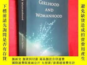 二手書博民逛書店GIRLHOOD罕見AND WOMANHOOD (小16開 )