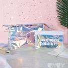 化妝包小號便攜網紅少女心簡約大容量韓國隨身防水透明收納袋