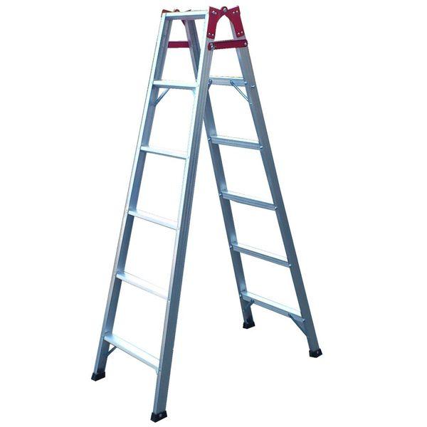 祥江鋁梯-直馬兩用梯6階