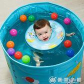 嬰兒游泳圈脖圈寶寶頸圈新生兒嬰幼兒童脖子浮圈可調0-12個月 優家小鋪