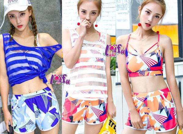 來福妹泳衣,C719泳衣上戶透視三件式泳衣游泳衣泳裝比基尼正品,售價950元