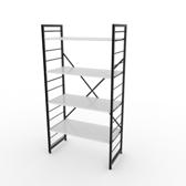 組 - 特力屋萊特 組合式層架 黑框/白板色 80x40x158cm