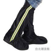 男女高筒特厚防滑耐磨底防水鞋套加厚牛津布雨天防雨鞋套雨靴鞋套